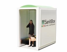 SanitiBox – box per la sanificazione instantanea di persone e merci